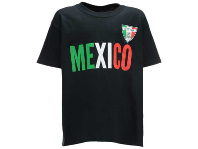 Mexico Youth Soccer Country Graphic T-Shirt