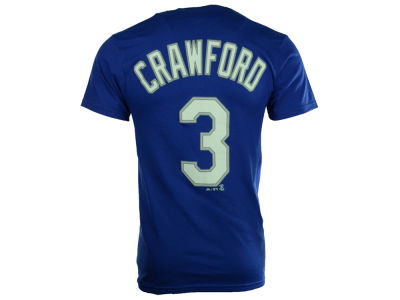 Los Angeles Dodgers Carl Crawford Majestic MLB Men's Official Player T-Shirt
