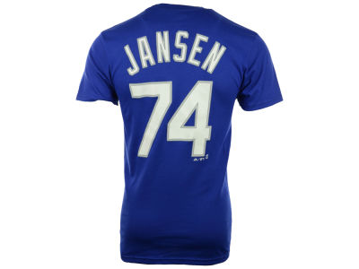 Los Angeles Dodgers Kanley Jansen Majestic MLB Men's Official Player T-Shirt