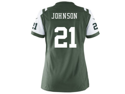 New York Jets Chris Johnson Nike NFL Women's Game Jersey