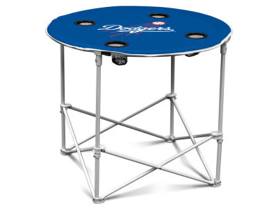 Los Angeles Dodgers Round Folding Table