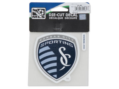 Sporting Kansas City 4x4 Die Cut Decal Color