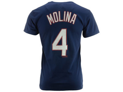 St. Louis Cardinals Yadier Molina MLB Men's Official Player T-Shirt