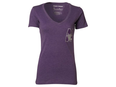 Northwestern Wildcats NCAA Womens Bira Vneck T-Shirt 2014