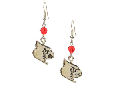 Louisville Cardinals Crystal Drop Earring