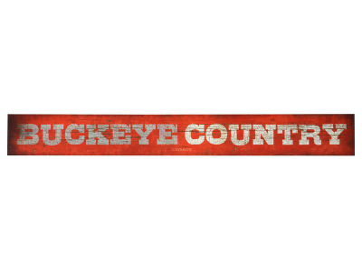Ohio State Buckeyes Doorway Plank Sign