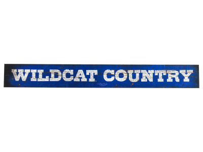 Kentucky Wildcats Doorway Plank Sign