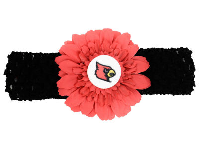Louisville Cardinals Flower Head Band