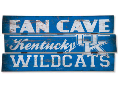 Kentucky Wildcats Plank Wood Sign