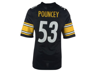 Pittsburgh Steelers Maurkice Pouncey Nike NFL Men's Limited Jersey