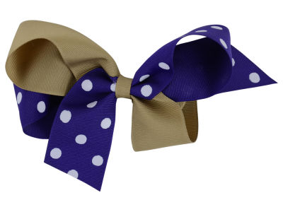 Washington Huskies Medium Dot Barrette