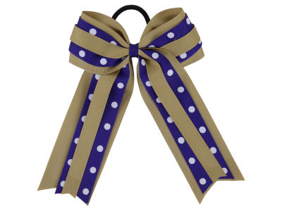 Washington Huskies Ponytail Bow