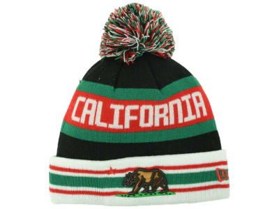 California Cal Rep Jake Cuffed Pom Knit