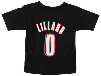 Portland Trail Blazers Damian Lillard NBA Toddler Name Number T-Shirt