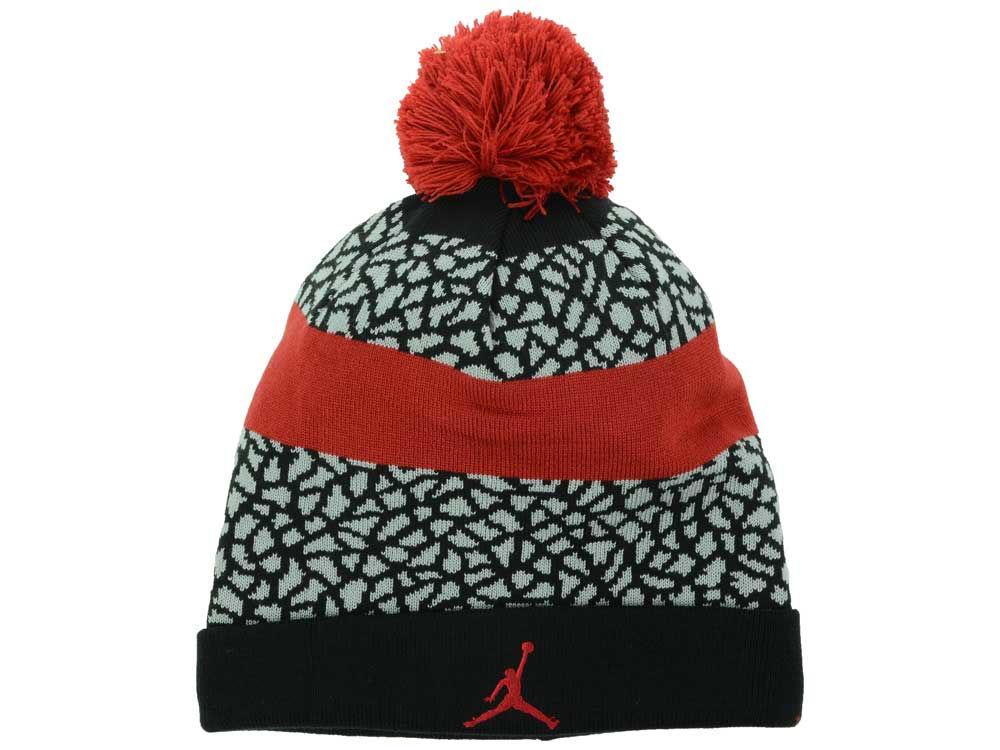 d069d031ebca ... pom beanies 6340e 4c304 coupon code for jordan jumpman striped beanie  knit f70ea 93029 ...