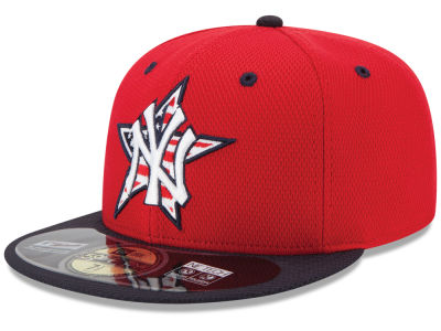 New York Yankees New Era MLB 2014 AC July 4th Stars & Stripes 59FIFTY Cap
