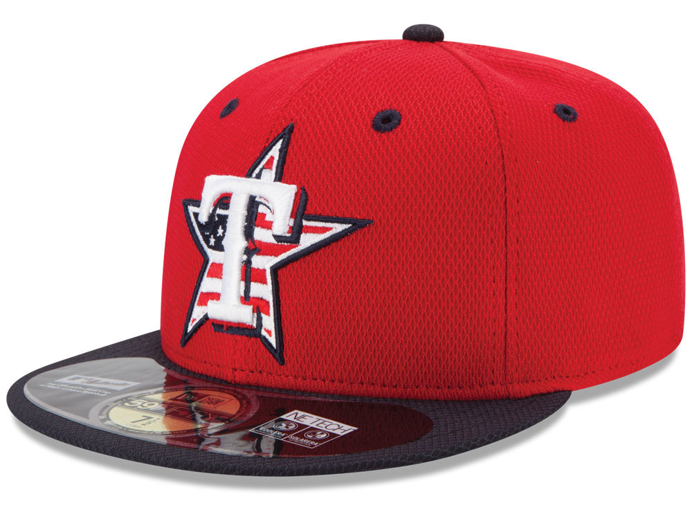 97d44152c9e best price texas rangers new era mlb 2014 ac july 4th stars stripes 59fifty  cap d4ea2