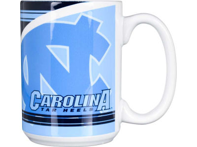 North Carolina Tar Heels 15oz Split Mug