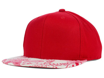 Top of the World August Paisley Printed Visor Snapback