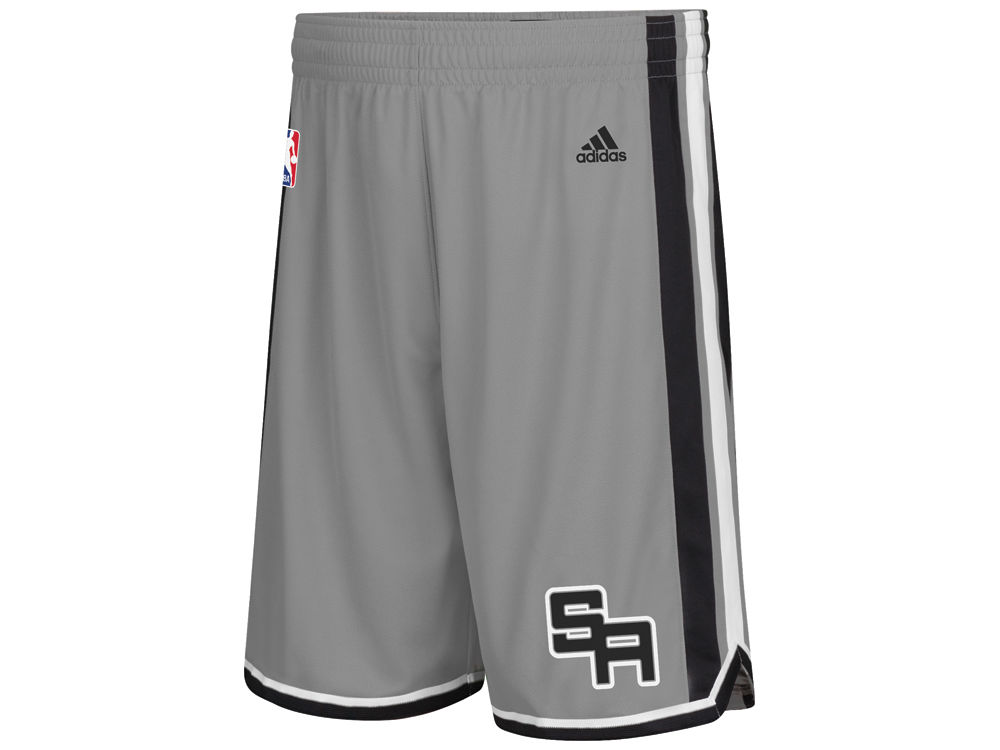 db93ca6eb9 ... San Antonio Spurs adidas NBA Mens 3G Swingman Shorts ...