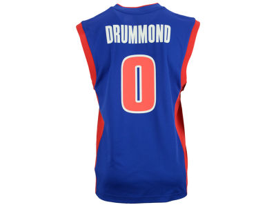 Detroit Pistons Andre Drummond adidas NBA Rev 30 Replica Jersey