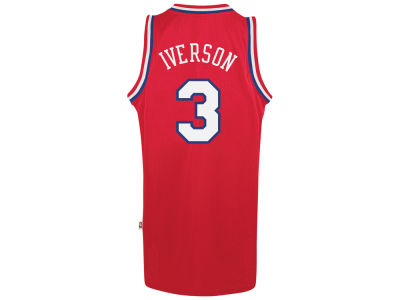 Philadelphia 76ers Allen Iverson adidas NBA Retired Player Swingman Jersey