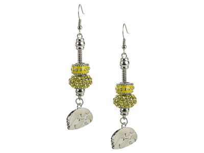 Iowa Hawkeyes Beaded Earrings