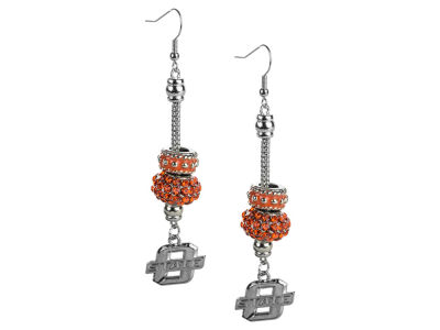 Oklahoma State Cowboys Beaded Earrings