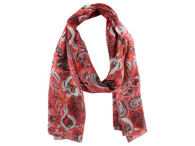 Louisville Cardinals Paisley Print Scarf