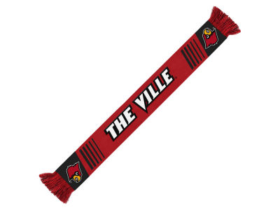 Louisville Cardinals Knit Scarf Wordmark