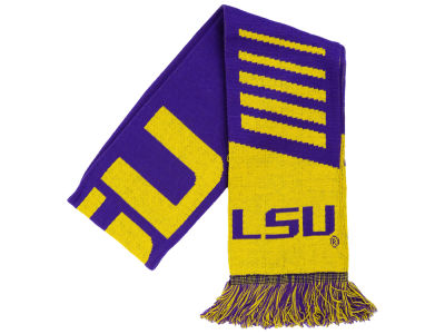 LSU Tigers Knit Scarf Wordmark