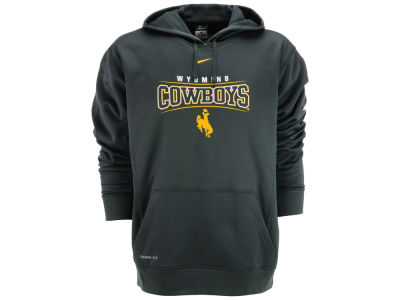 Wyoming Cowboys Nike NCAA Bowtie Namedrop Hoodie