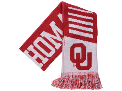 Oklahoma Sooners Knit Scarf Wordmark