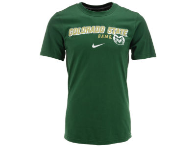 Colorado State Rams Nike NCAA Slanted School Name T-Shirt