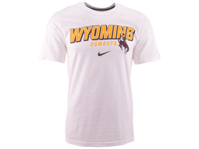 Wyoming Cowboys Nike NCAA Slanted School Name T-Shirt