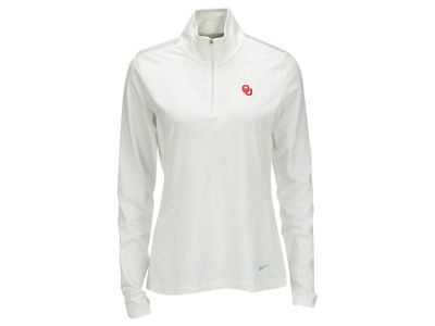 Oklahoma Sooners Nike NCAA Womens Half Zip Key Cover-up Pullover