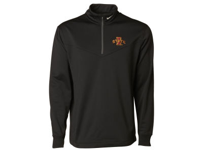 Iowa State Cyclones Nike NCAA Men's Therma Cover Up Half Zip Pullover Shirt