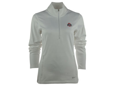 Ohio State Buckeyes Nike NCAA Women's Half Zip Therma Cover Up Pullover Shirt