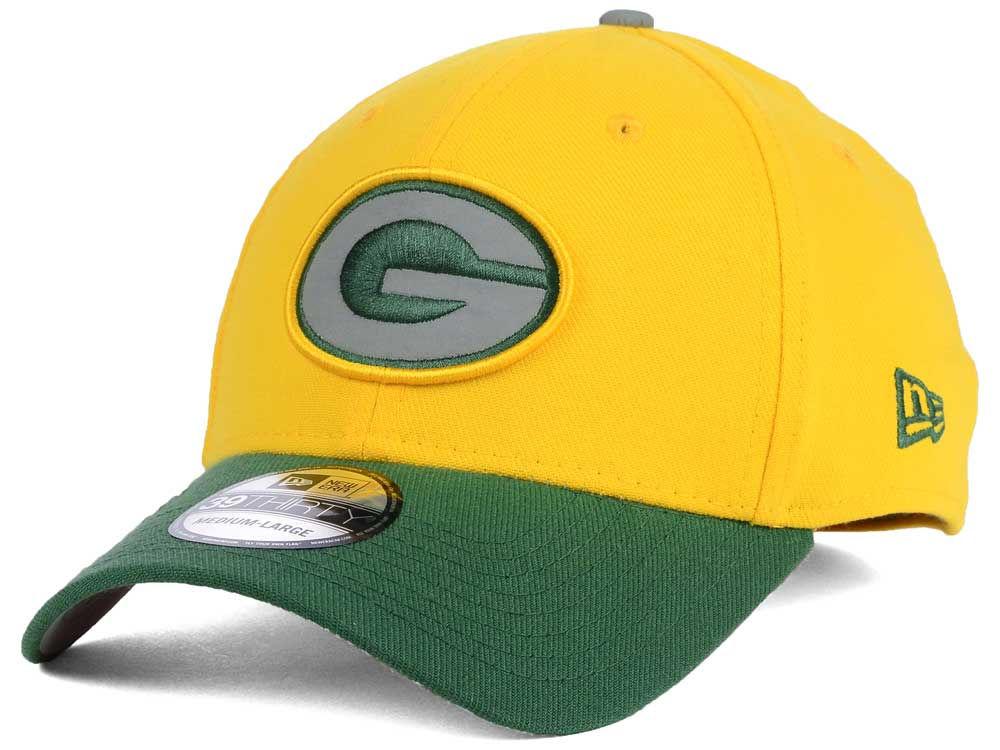 c6fdbb4c102 Green Bay Packers New Era NFL Thanksgiving On Field Reflective 39THIRTY Cap