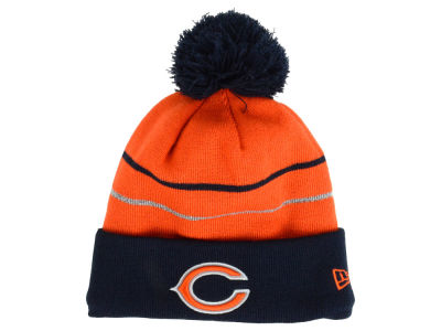 Chicago Bears New Era NFL Thanksgiving On Field Reflective Sport Knit