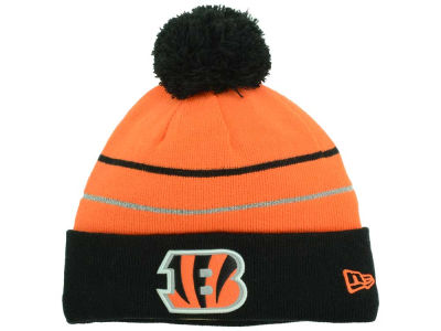 Cincinnati Bengals New Era NFL Thanksgiving On Field Reflective Sport Knit