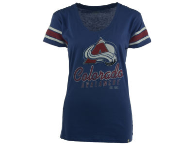 Colorado Avalanche NHL Women's 2014 Off Campus Scoop Neck T-Shirt