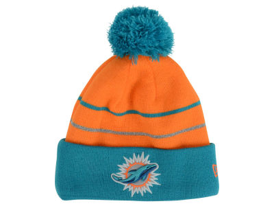Miami Dolphins New Era NFL Thanksgiving On Field Reflective Sport Knit