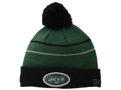 New York Jets New Era NFL Thanksgiving On Field Reflective Sport Knit