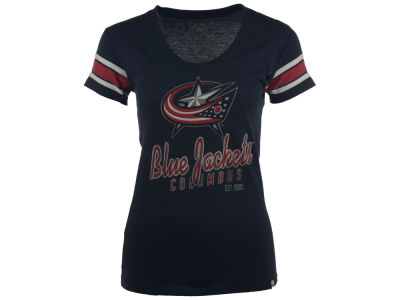 Columbus Blue Jackets NHL Women's 2014 Off Campus Scoop Neck T-Shirt