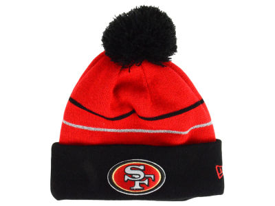 San Francisco 49ers New Era NFL Thanksgiving On Field Reflective Sport Knit