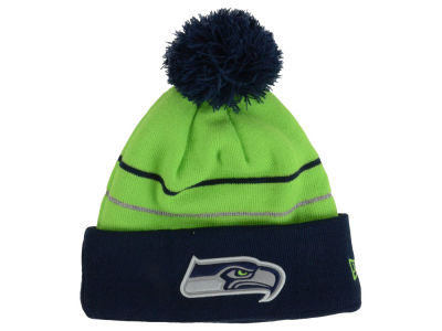 Seattle Seahawks New Era NFL Thanksgiving On Field Reflective Sport Knit