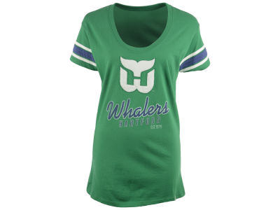 Hartford Whalers NHL Women's 2014 Off Campus Scoop Neck T-Shirt