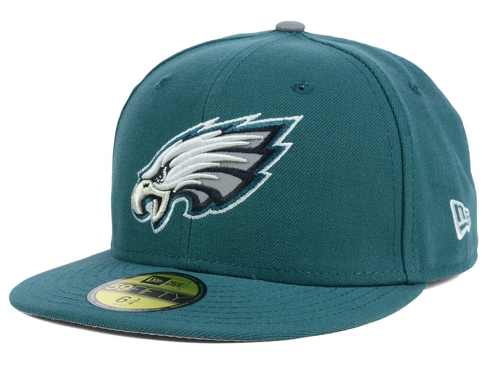 Philadelphia Eagles New Era NFL Kids Thanksgiving On Field Reflective  59FIFTY Cap  005af5051