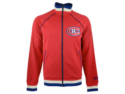 Montreal Canadiens Reebok NHL Men's CCM Applique Track Jacket